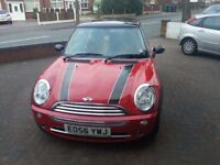 Mini Cooper Red with Chill Pack for sale.