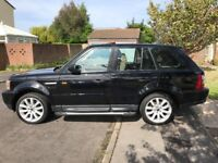 Range Rover Sport 3.6L V8 HSE 2007 VGC, Very High Spec. 2 New Turbos + Intercoller fitted. TV