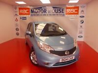 Nissan Note TEKNA DIG-S (HUGE SPEC) FREE MOT'S AS LONG AS YOU OWN THE CAR!!! (blue) 2014