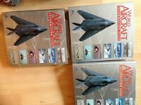Aircraft magazine collections with binders