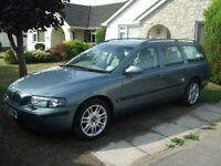 Volvo V70 2.4 L SE Green 5dr Automatic Petrol Full Cream Leather 104,000 Miles Lovely Car