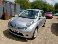 57 PLATE NISSAN MICRA. 1.4 PETROL. DRIVES WELL. PX WELCOME