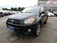 2010 Toyota RAV4 AWD,LEATHER,S-ROOF,3YEARS P-T WARRANTY AVAILABL