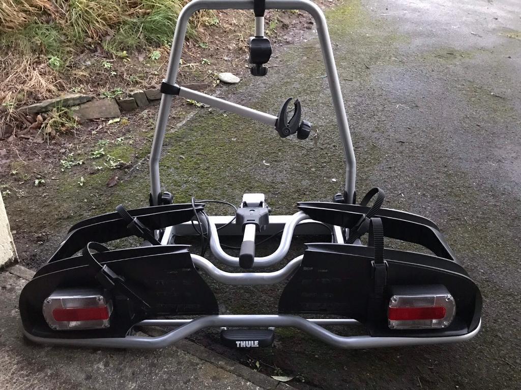 thule 2 bike rack carrier ep 916 electric bike in liskeard cornwall gumtree. Black Bedroom Furniture Sets. Home Design Ideas
