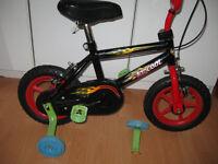Black/Red KIDS Bike 2-5 yrs KIDCOOL