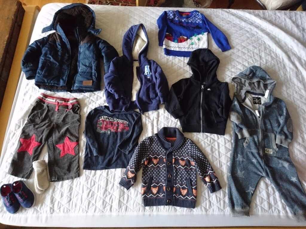 Clothes for boys 18-24 months