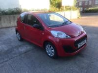 PEUGEOT 107 2013, 1.0 12V ACCESS 3dr, NEW MOT, ONE LADY OWNER, NEW SERVICE, LOW MILEAGE