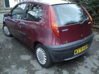 ★ Fiat punto 39k Spares or repair none runner ★