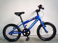 "(2194) 16"" Lightweight Aluminium RIDGEBACK Boys Girls Child Bike Bicycle Age: 5-7 Height: 110-125cm"