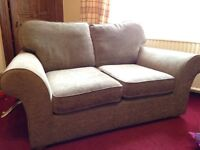 Matching sofas with ottoman