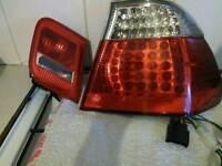 BMW E46 Saloon LED rear lights