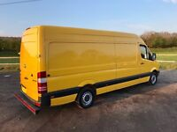 MERCEDES SPRINTER 313 CDI LWB DIESEL 2012 61-REG ONLY 120,000 MILES FROM NEW DRIVES EXCELLENT