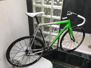 (SIZE 58cm / XL) 2016 CANNONDALE CAAD10 TRACK BIKE - MAVIC ELLIPSE