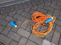 camping/caravan on site power cable