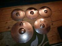 Paiste alpha series cymbals for sale