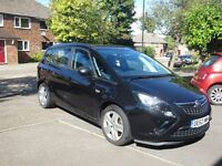 Vauxhall Zafira Tourer 2.0 CDTI 1.6V Exclusive Automatic Black (ONO)