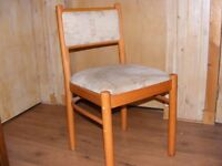 3 dining room chairs, reasonable condition.