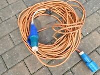 Electric Hook up cable for Caravan / Motorhome