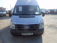 ford transit115-t350l-rwd 2008-58 reg