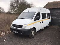 LDV MAXUS MINIBUS 15 PASS DIESEL 2007 DRIVES PERFECT 67K ONLY