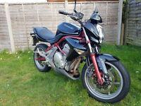Kawasaki er6-n, 650cc, mot til feb 2018