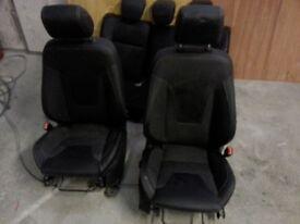 Ford fiesta titanium 5 door half leather seats in good condition