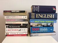 FREE: books: novels, factual, travel, dictionaries etc