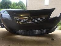 Vauxhall Astra J 2009-2012 Damaged bumper Pre Facelift Bumper with grills z177