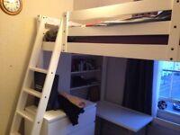 Ikea Stora double loft / high bed