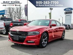 2017 Dodge Charger R/T, GPS NAV, SUNROOF, HTD/VENTED SEATS, BLIN