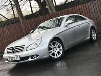 **LOW MILEAGE** AUTOMATIC MERCEDES CLS 320CDI LONG MOT LEATHER INTERIOR