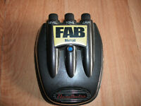 Danelectro FAB Metal effects pedal for electric guitars excellent condition