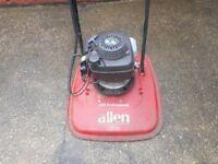 Hayter Allen 450 professional hover lawnmower