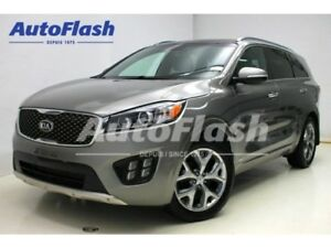 2016 Kia Sorento SX 3.3L 7-PASS *Navigation *Camera *Cuir/Leathe