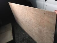 12 sheets of 3/4 plywood