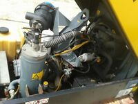 2003 Atlas Copco XAS 36 2/pipe very low/hours 361 only from new
