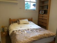 Short term let double room to rent on lovely Brixton flat