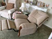 Pair of electric recliners