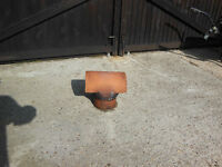 Terracotta Chimney Cowl for sale, used in good condition