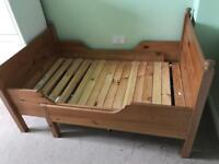 Extendable Ikea Children's bed