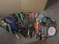 Second Hand Tennis Rackets, All Sizes, Brands & Conditions.