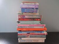 20 assorted cookery books