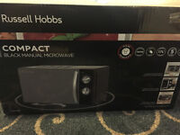 Brand new Russell Hobbs microwave £50! (RRP £70)