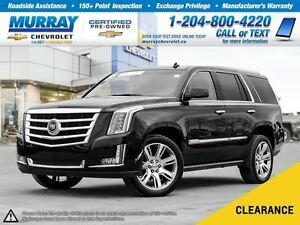 2015 Cadillac Escalade Premium *Accident Free, Leather Seats, Re
