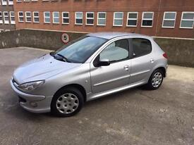 Peugeot 206 Look (2008) Petrol, 5 Doors, Central Locking, CD player and radio