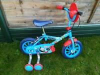 Small boys Thomas Bike