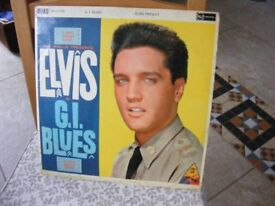 Elvis LP collection. some rare. various prices.