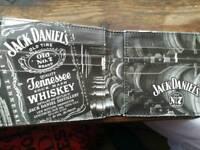 Genuine jack Daniels leather wallet