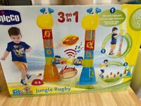 Chicco Fit and Fun Jungle Rugby. 18m-5yrs