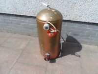 Copper Water Cylinder